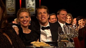 Booze hates Brad Keselowski - Jay Mohr - 2014 NASCAR Sprint Cup Awards