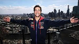 Behind the Scenes with Daniel Ricciardo in Melbourne
