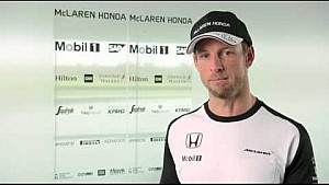 Interview with McLaren-Honda driver, Jenson Button