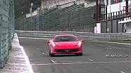 Ferrari Track Day at Spa - Amazing Sound