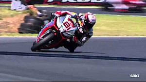 Jordi Torres takes tumble ahead of Superpole