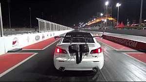 EKanooRacing Lexus ISF Twin Turbo massive crash