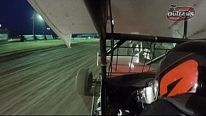 World of Outlaws On-Board: Shane Stewart | Stockton Dirt Track | March 22, 2015