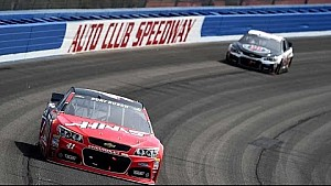 Ku. Busch: 'Brad outmuscled us with four tires'