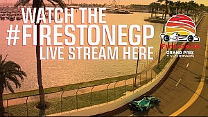 Firestone Grand Prix of St.Petersburg Race Day Warm-Up