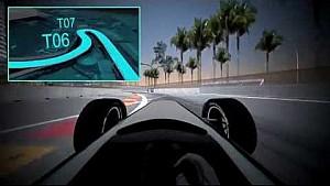 A virtual lap of the Long Beach ePrix circuit
