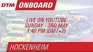 Pascal Wehrlein - Live Onboard (Race 2) - DTM Hockenheim 2015