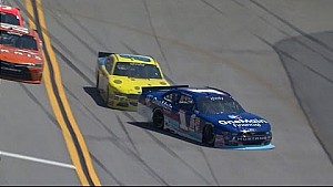 Bubba clips Sadler sending him for a wild ride
