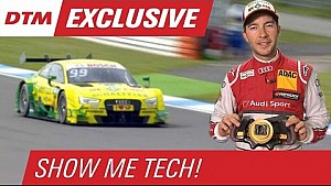 Mike Rockenfeller Explains the Audi Steering Wheel - Show Me Tech!
