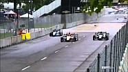 Kimball crashes hard - 2015 Detroit Race 1