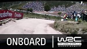 WRC - Vodafone Rally de Portugal 2015: Latvala Onboard SS16