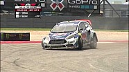 Joni Wiman rallies off-course in heat 1 of X Games Rally Car - ESPN