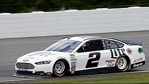 Keselowski upset with car at Pocono Raceway