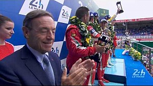 The 83rd Edition of the 24 Hours of Le Mans Podium - LMGTE-Pro Category