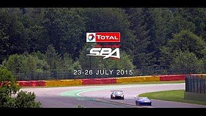 Let the countdown begin! - Total 24 Hours of Spa 2015