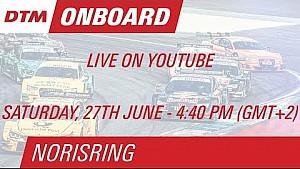 DTM Norisring 2015 - Christian Vietoris - Live Onboard (Race 1)