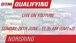 DTM Norisring 2015 - Qualifying (Race 2) - Live Stream