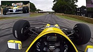 On Board : Williams FW13B à Goodwood