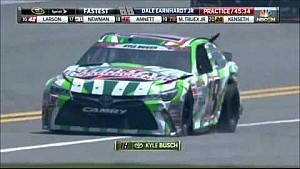 Big practice crash - Daytona Coke Zero 400