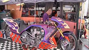 2011 European Drag Racing - Top Fuel Dragster at Alastaro - Prog 1