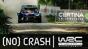 Rally Poland 2015: CRASH Latvala SS19