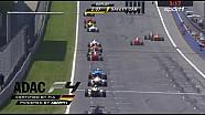 Schumacher-Crash in Lauf 2 im Video   ADAC FORMEL 4