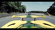 McLaren victory lap at Le Mans