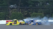 Matt Crafton Brad Keselowski crash