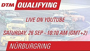 DTM Nürburgring 2015 - Qualifying (Race 1) - Livestream