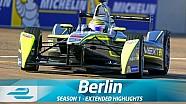 Berlin ePrix Full Extended Highlights (Season 1 - Round 8)