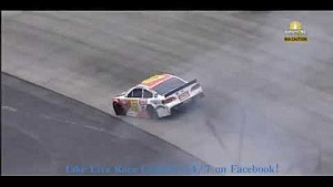 AJ Allmendinger spins at Dover