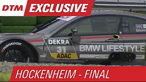 Blomqvist Hits the Gravel in Free Practice - DTM Hockenheim - Finale 2015