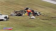 Rusty Wallace crashes in the 1993 Daytona 500