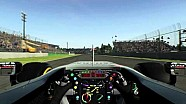 Sergio Perez reviews the Autodromo Hermanos Rodriguez on F1 2015
