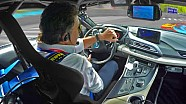 Alejandro Agag sulla BMW i8 a Pechino