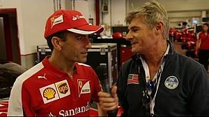 Ferrari World Finals | Exclusive interview with Marc Gene [Italian]