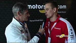 Ferrari World Finals | Exclusive interview with Toni Vilander
