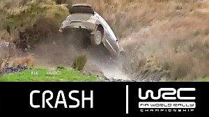 Wales Rally GB 2015: CRASH Latvala