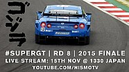 Super GT Full Race - 2015 Round 8 - MOTEGI (Japan) - English commentary (ft Radio Le Mans!)