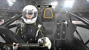 ROC 2015 Celebrity Skills Challenge - Katarina Johnson Thompson