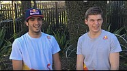 Best of 2015 with Verstappen and Sainz