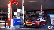 James Bond in Edinburgh - '007 Lived Here' with Esso Synergy Part 2