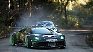 Drift Battle between Saito vs. Gittin Jr. in Japan