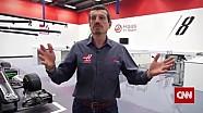 Visite de l'usine Haas F1 à Banbury