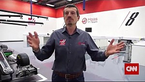 Tour of Haas F1 team's Banbury facility
