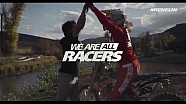 We are all racers – Episode 4 - Mountain bike VS Motocross - Michelin (2016)