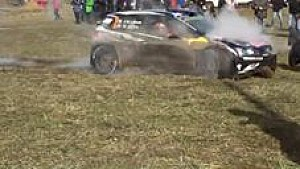 Jari Matti Latvala crash - SS11 WRC Rally Monte Carlo