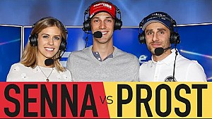 Prost vs Senna Forza 6 Race Off (Behind The Scenes)