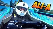 GoPro Onboard: Ali-A Driving A Formula E Car!
