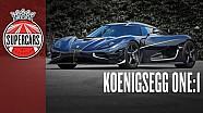 Koenigsegg One: 1 The 1300bhp 273mph Megacar